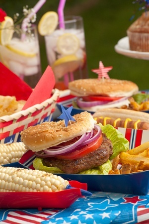 Perfect for July 4th….  HEALTHFUL OUTDOOR COOKING