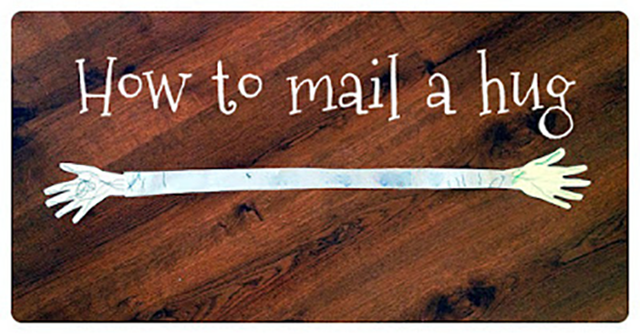 Valentine Mail! How to Send a Hug…