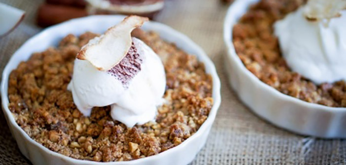 Apple and Pear Crisp*