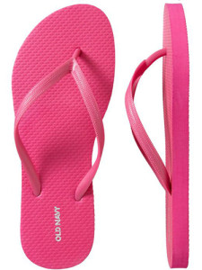 Top 10 Beach Bag Essentials for Summer 2015-(CUTE FLIP FLOPS)#3