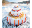 fun winter kids craft 1 (snow castle)