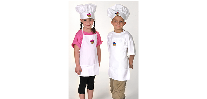 WIN a Personalized Cupcake Logo Chef Set!