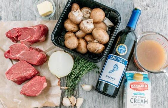 Filet Mignon Recipe Ingredients