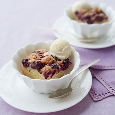 Grandma's Blueberry Buckle Recipe