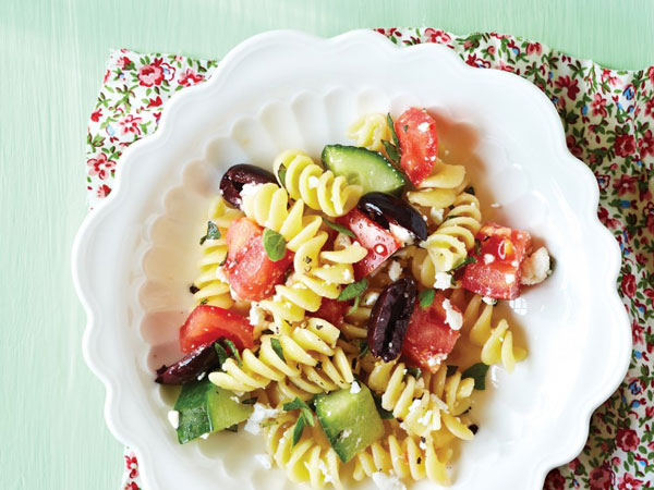 Greek Salad Pasta