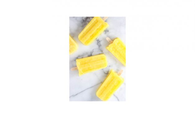 Pineapple Ginger Lemonade Popsicles*