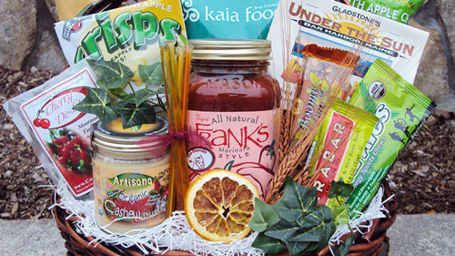 Athlete Healthy Gift Basket