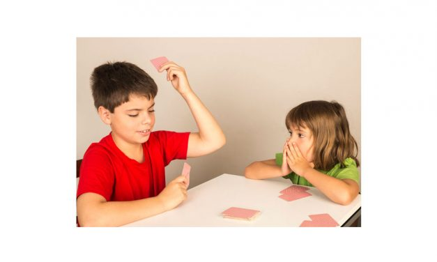 Playing Cards with Kids!