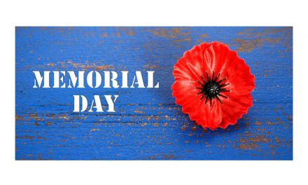 Wishing you a wonderful Memorial Day Holiday!