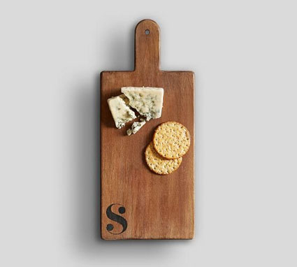 Alphabet Cheese Board