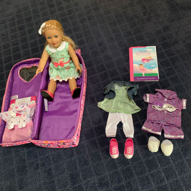 Holiday Doll GIVEAWAY by Club Eimmie