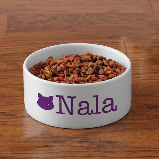 Pet Initials Personalized Pet Bowls
