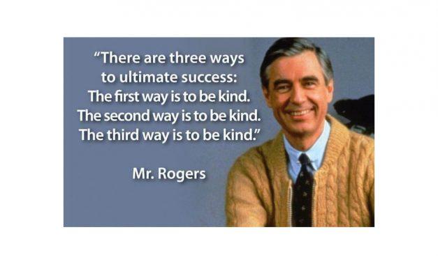 Kindness matters…