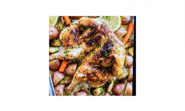 THE BEST ROAST CHICKEN EVER!