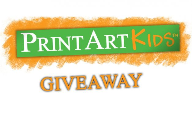 It's Our April Giveaway with PrintArtKids