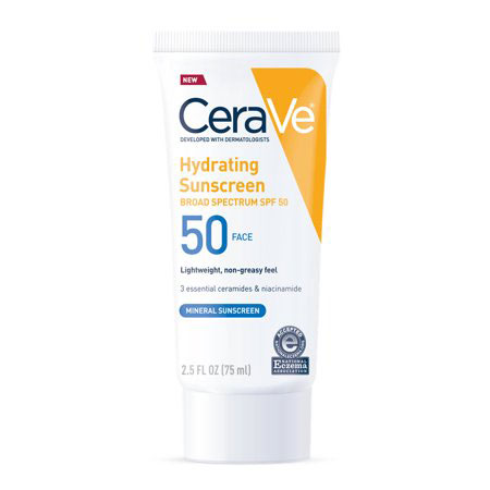 CeraVe Mineral Sunscreen Lotion for Face - SPF 50