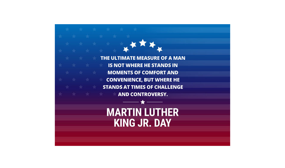 We honor Martin Luther King Jr today and always…
