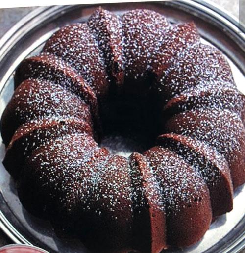 Sour Cream-Mocha Bundt Cake