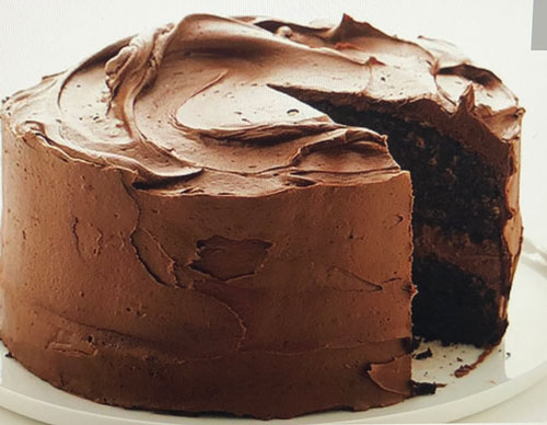 One-Bowl Chocolate Cake and Frosting