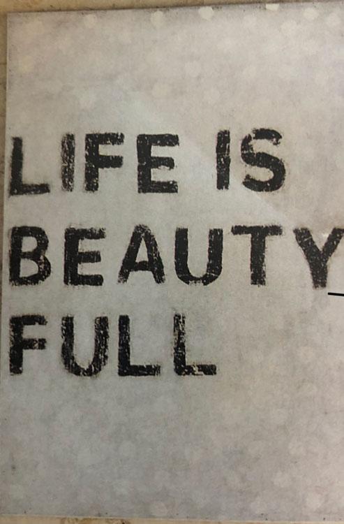 Simply said….