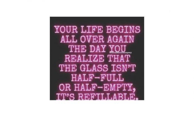 Life Begins Saying