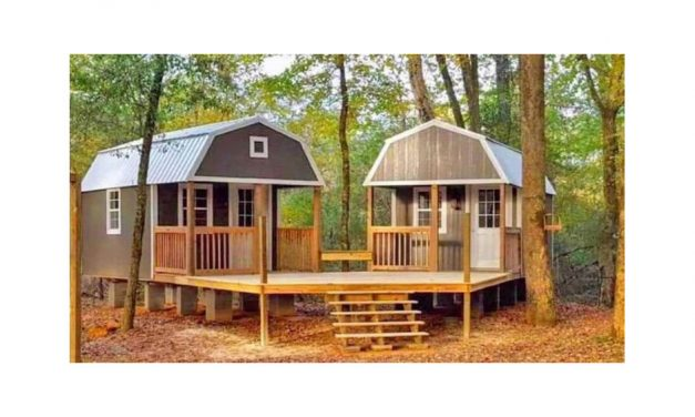 Escape to a 'She Shed'/'Man Cave'
